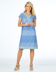 W.Lane Embellished Print Dress