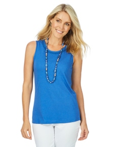 W.Lane Beaded Trim Singlet