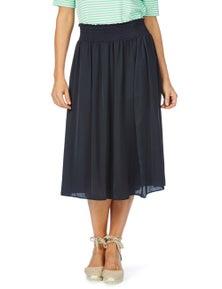 W.Lane Ruched Waist Skirt