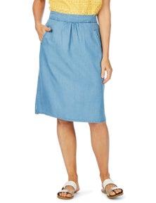 W.Lane Pocket Trim Skirt