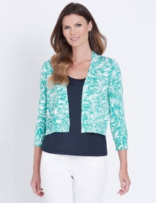 W.Lane Printed Cardigan