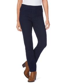 W.Lane Signature Full Length Straight Leg Jean