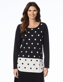 W.Lane Spot Sweater