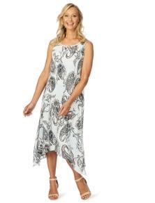 W.Lane Paisley Print Dress