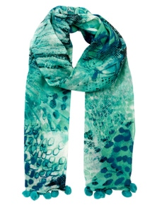 W.Lane Abstract Scarf