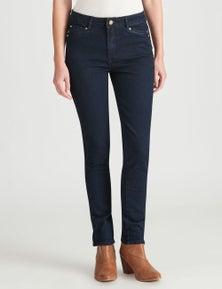 W.Lane Seam Detail Full Length Jean