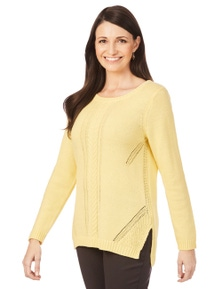 W.Lane Cable Pullover