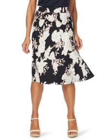 W.Lane Floral Print Skirt