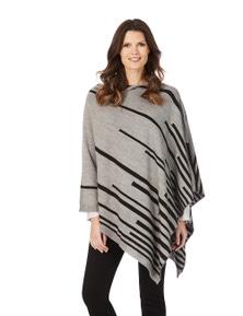 W.Lane Reversable Diagonal Stripe Wrap
