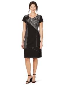 W.Lane Panel Print Dress