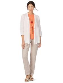 W.Lane Linen Button Jacket