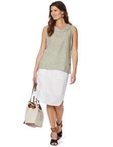 W.lane Curved Hem Skirt