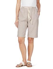 W.Lane Wide Stripe Short