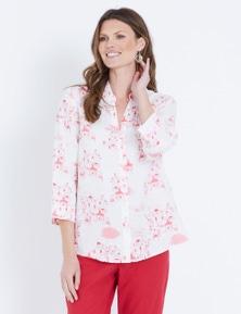 W.Lane Santorini Print Shirt