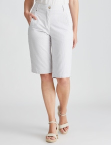 W.Lane Micro Stripe Short