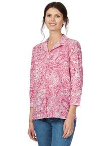 W.Lane Paisley Shirt