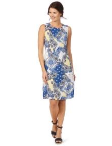 W.Lane Paisley Placement Dress