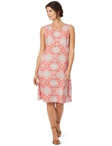 W.Lane Tile Print Dress
