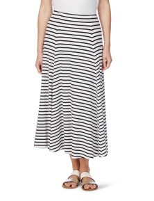 W.Lane Spliced Stripe Skirt