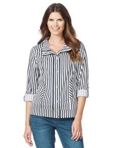 W.Lane Stripe Jacket