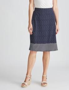 W.Lane Spot Aline Skirt
