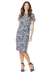 W.Lane Twist Print Dress