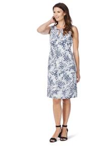 W.Lane Abstract Tile Print Dress