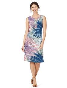 W.Lane Fern Print Dress