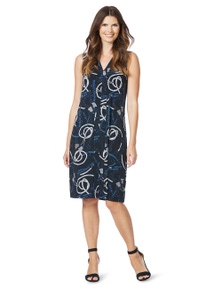 W.Lane Rope Print Dress
