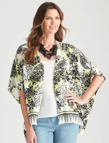 W.Lane Tropical Kimono