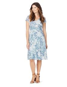 W.Lane Paisley Burnout Dress