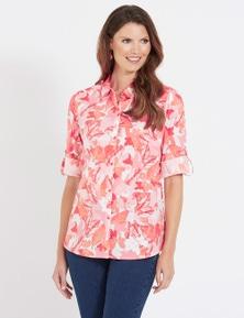 W.Lane Abstract Leaf Shirt