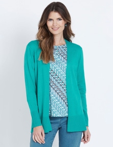 W.Lane Side Split Cardigan
