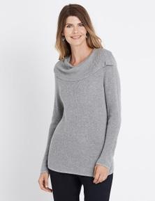 W.Lane Side Split Pullover