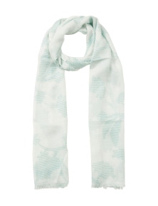 W.Lane Dotted Floral Scarf