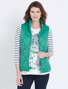 W.Lane Quilted Vest