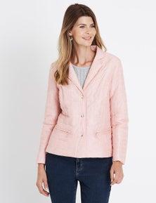 W.Lane Quilted Zip Jacket