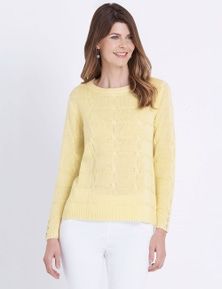 W.Lane Cable Front Pullover