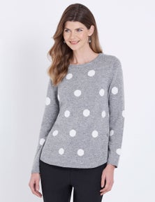 W.Lane Spot Button Pullover