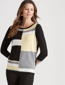 W.Lane Colour Block Pullover