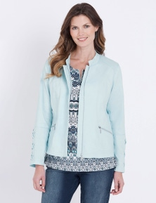 W.Lane Lace Panel Jacket