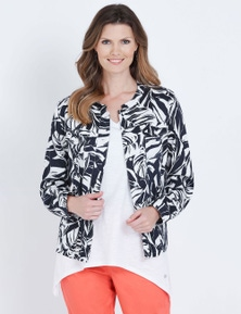 W.Lane Printed Linen Jacket