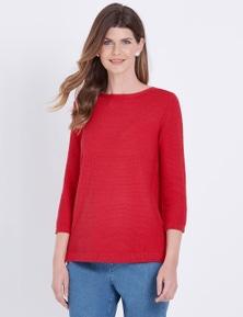 W.Lane Textured Pullover
