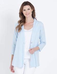 W.Lane Drape Linen Jacket