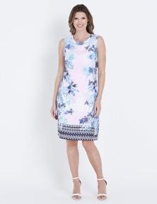 W.Lane Leaf Print Dress