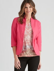 W.Lane Linen Textured Jacket