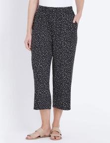 W.Lane Spot Knit Coulotte Pant