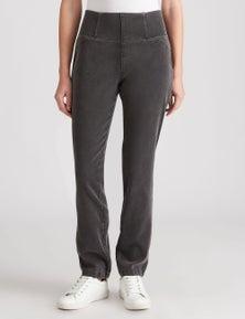 W.Lane Comfort Slim Leg Full Length Jean