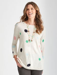 W.Lane Multi Spot Pullover