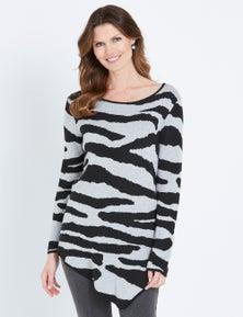 W.Lane Zebra Pullover